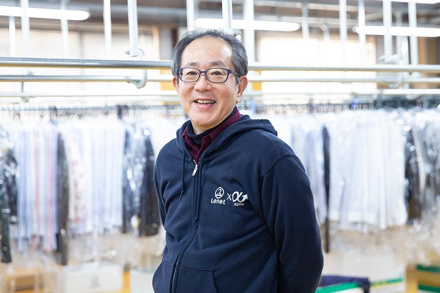 リネット工場インタビュー「お客様がお気に入りの服をいつまでも気持ちよく着られるように。 パートナーとしてリネットと新しいクリーニングをつくり上げていく」